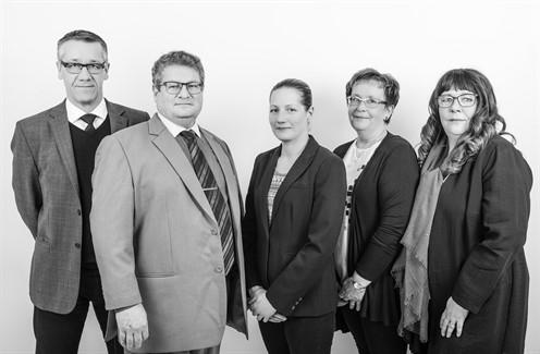Kent Andersson, Sivert Kjellgren, Veronica Aurell, Karin Vågbrink & Pernilla Kjellgren